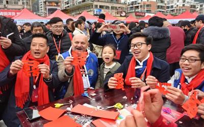 【新春走基层】中国年 国际范