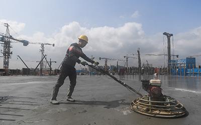 杭州:亞運配套項目全力復工