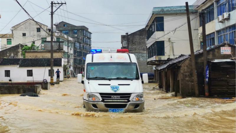 抗台救灾丨浙南地区众志成城抗击台风