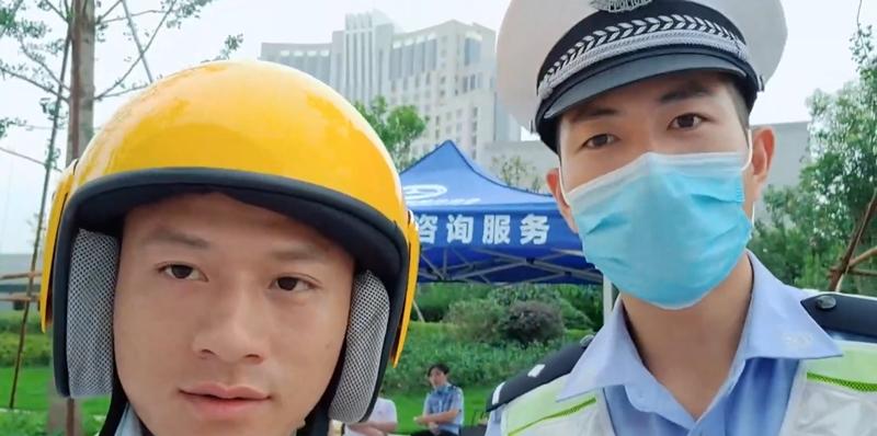 臺州:交警直播月,彈幕刷滿