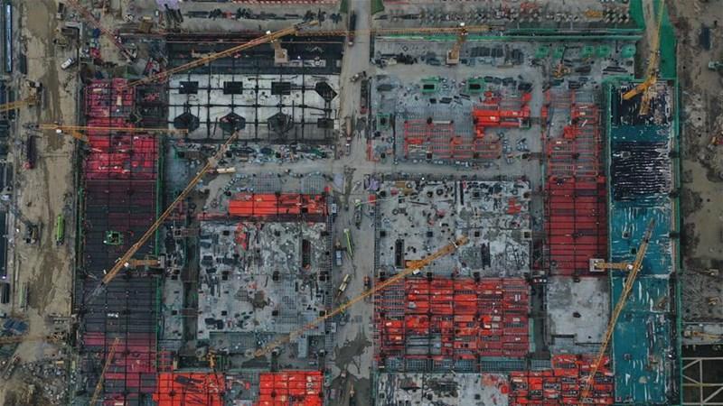 杭州西站樞紐工程建設持續推進