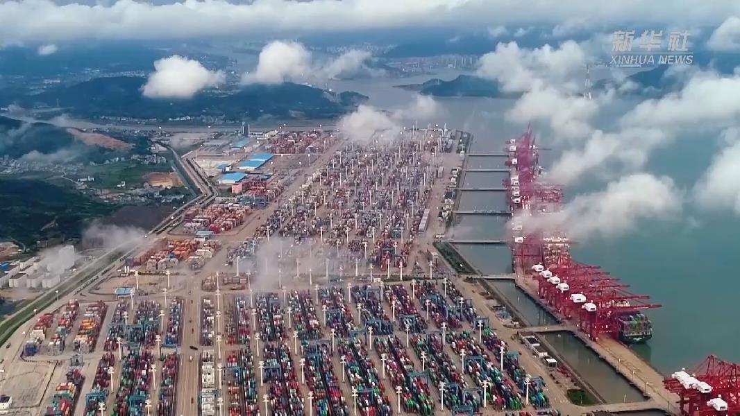 宁波舟山港2020年货物吞吐量蝉联全球第一
