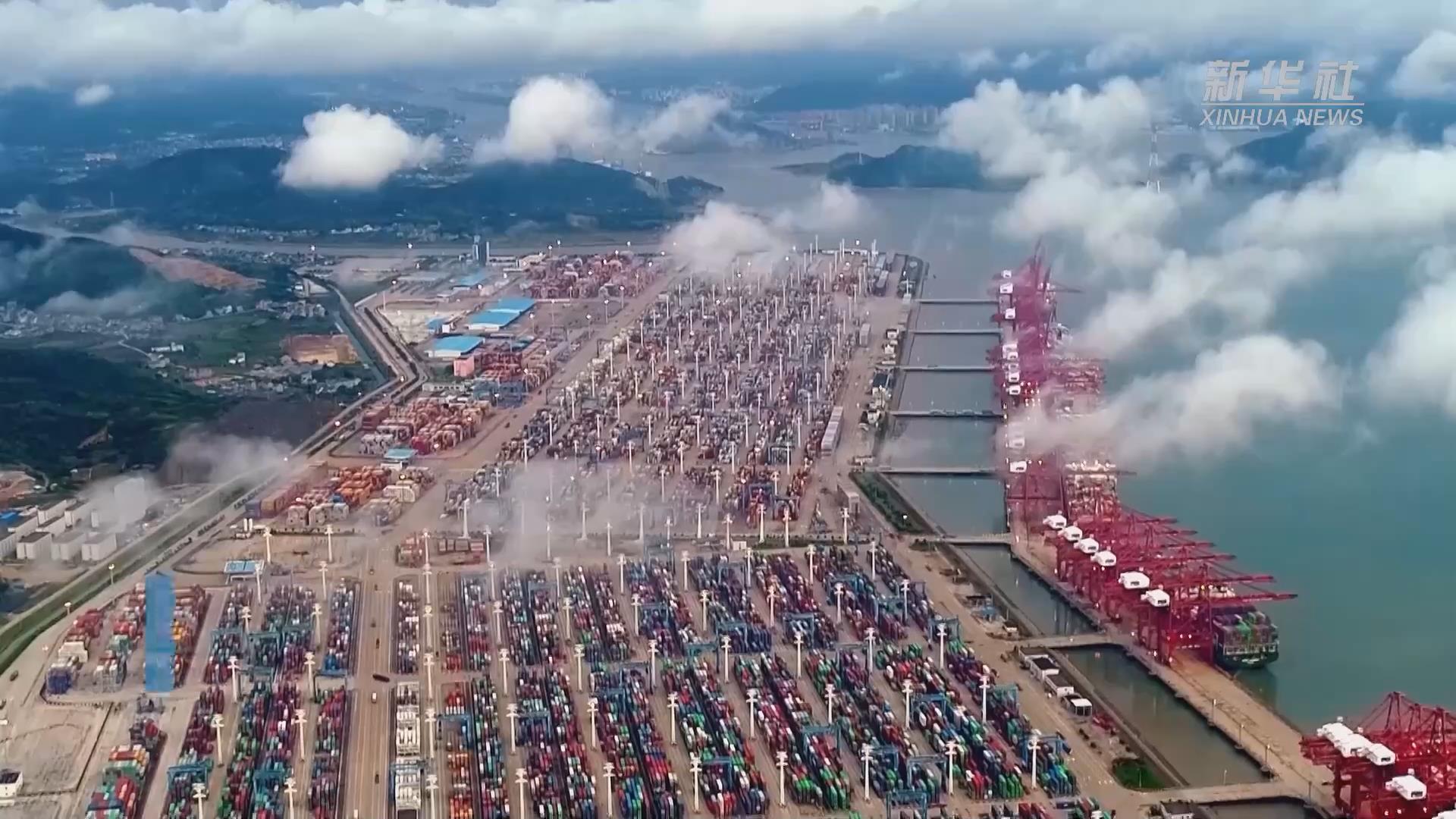 宁波舟山港探索传统码头智能化改造路径