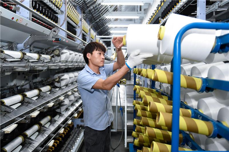 浙江湖州:节后企业复工忙
