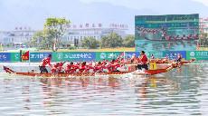 【组图】全运会群众比赛龙舟决赛在浙江温州开赛